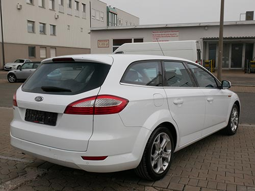 Ford Ankauf in Nürnberg Ford Mondeo weiss
