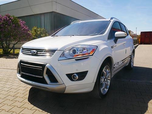 Ford Ankauf ein weißen Ford Kuga von Autoankauffranken.de