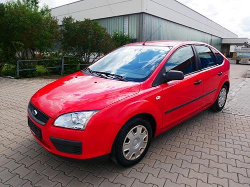 Ford Ankauf roter Fiesta von Autoankauffranken.de