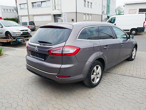 Ford Ankauf grauer Ford Mondeo von Autoankauffranken.de
