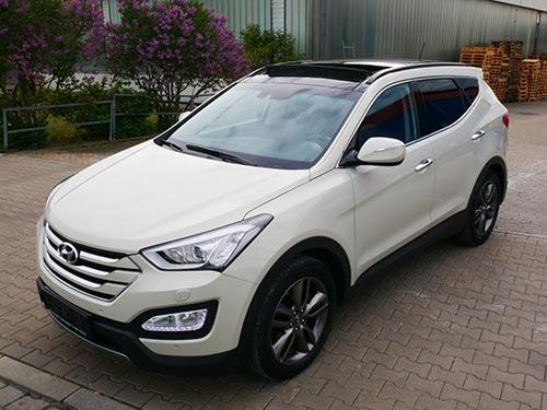 Hyundai Ankauf ein Hyundai Santafee von Autoankauffranken.de