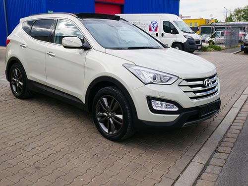 Hyundai Ankauf ein Hyundai Santafee von Autoankauf Franken