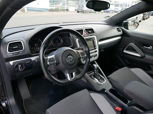 VW-Ankauf-Scirocco-Innenansicht-von Autoankauffranken