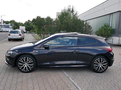 VW Ankauf ein Volkswagen Scirocco von Auto Ankauf Franken Ihr Gebrauchtwagenhändler aus Nürnberg