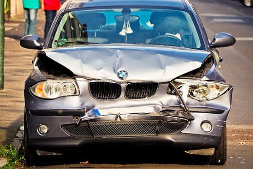 Unfallauto BMW