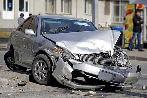 Unfallwagen Totalschaden